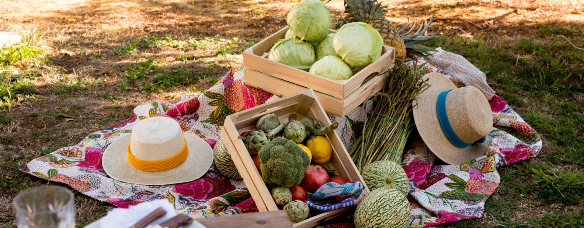Puesto de verduras by Ovejas Negras Catering